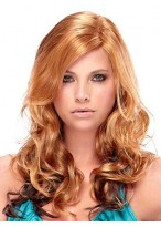 Long Synthetic Luscious Wavy Wig
