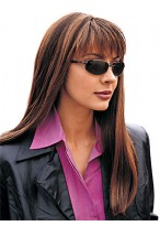 Cool Long Straight Remy Human Hair Wig