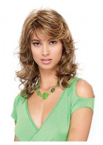 Loose Spiral Full-Bodied Curls Synthetic Wig