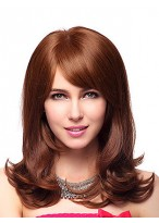 Long Capless Synthetic Wig