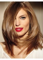 14 Inches Straight Medium Straight Synthetic Capless Wigs