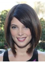 """12"""" Straight Capless Synthetic Hair Wig"""