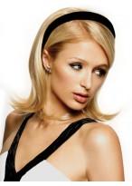Medium Length Synthetic Half Wig With Headband
