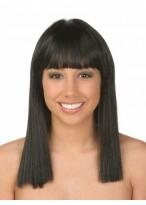 Straight Black Human Hair Wig