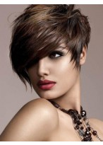 Cool And Hot Synthetic  Wig