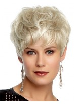 Flattering Boy Cut Synthetic Capless Wig