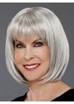 Mid-length Bob Synthetic Capless Wig