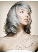 Fashion Synthetic Shoulder Length Wig