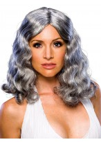 Curly Capless Synthetic Medium Wig