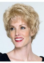 Short Waves Remy Human Hair Wig